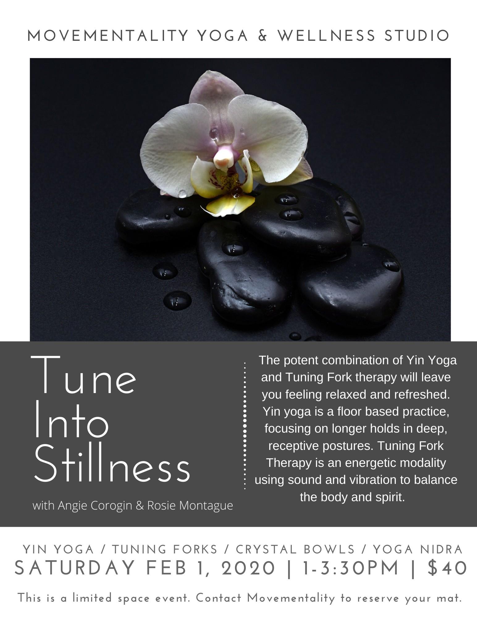 Tune Into Stillness